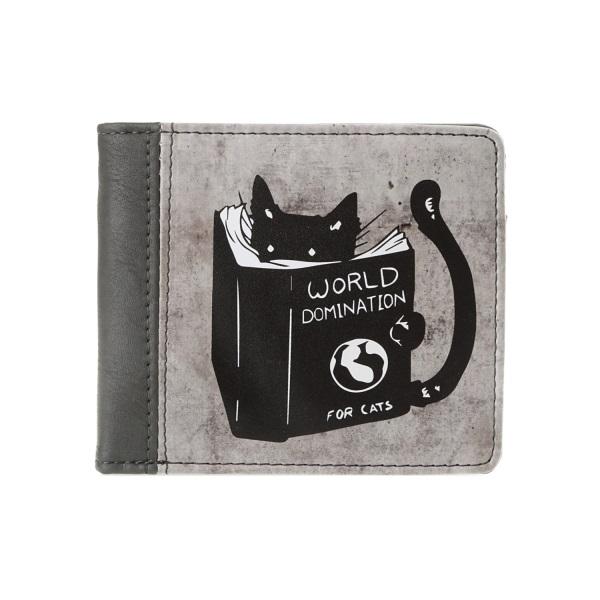 Компактный кошелек Кот
