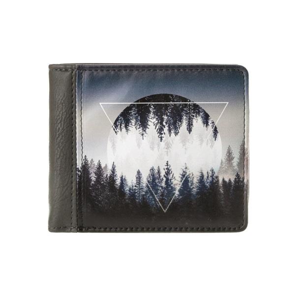Компактный кошелек Лес