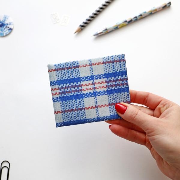 Кошелек Paper Ninja синий