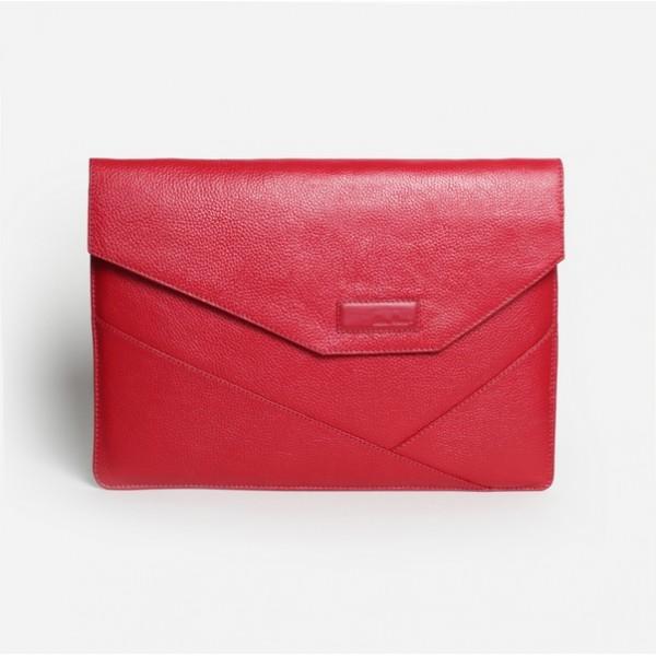 Папка для ноутбука красная