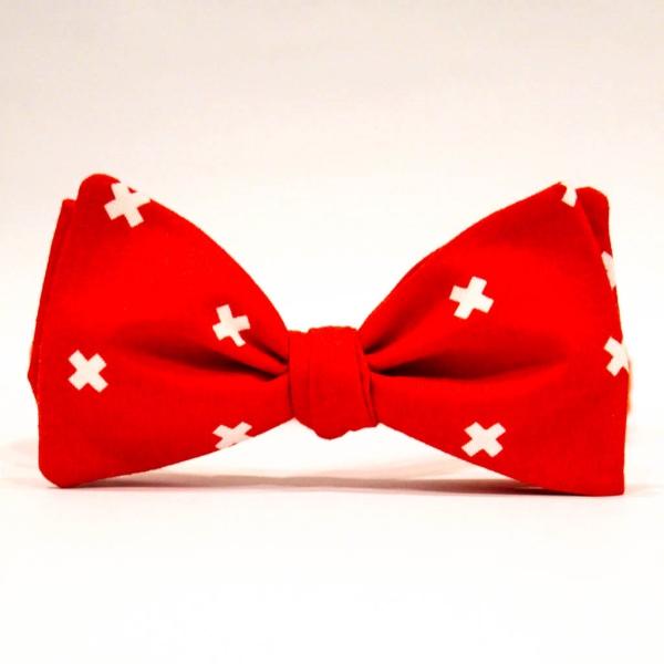 Галстук-бабочка унисекс Red Cross