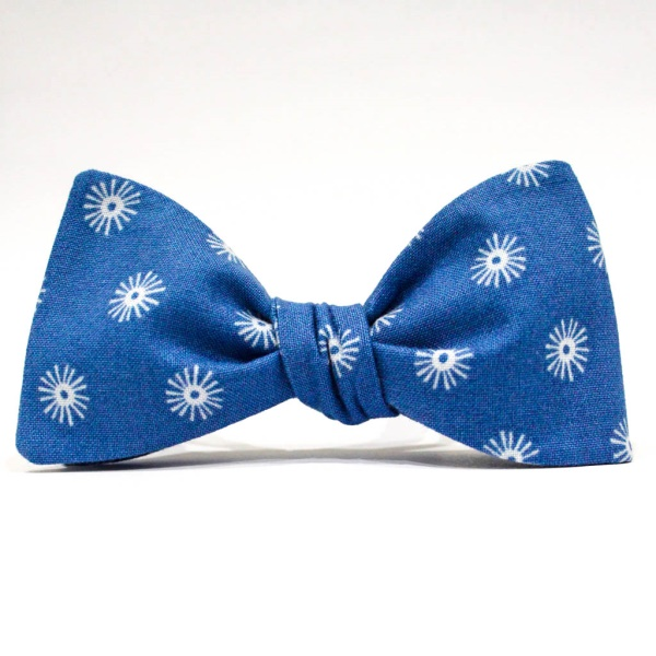 Бабочка галстук Blue Snowman