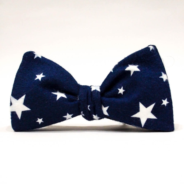 Галстук-бабочка унисекс Blue Starry Sky