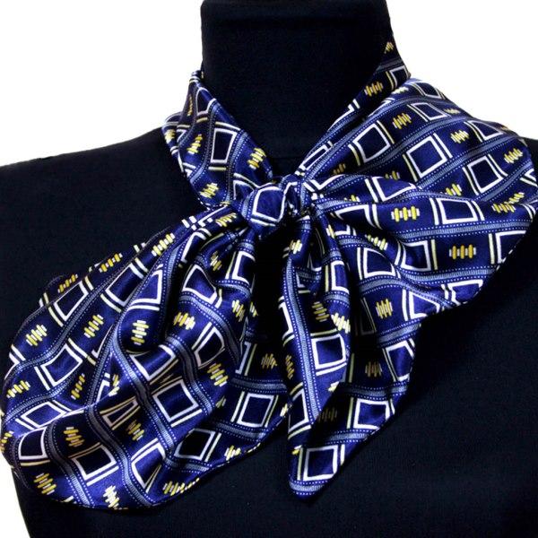 Женский платок французский Blue Square