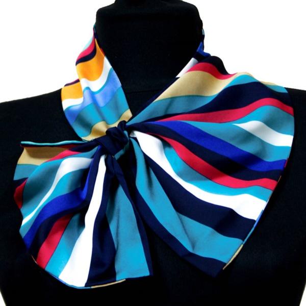 Шелковый платок Wonderful Stripes