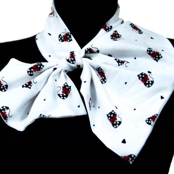 Шелковый платок Sweet Kitty