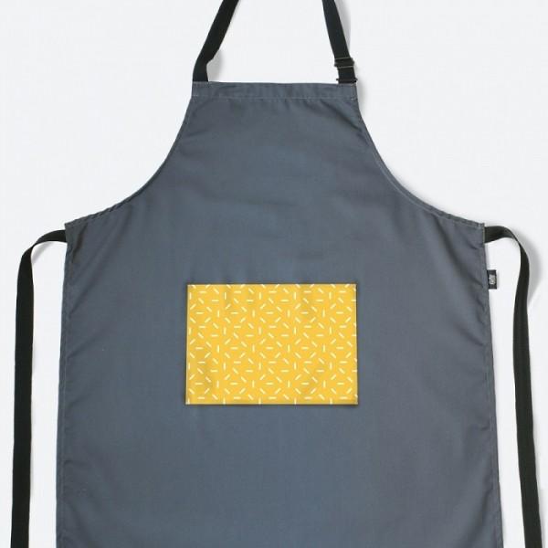 Кухонный фартук с карманом