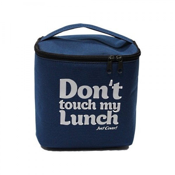 Термо-сумка Don't touch my lunch макси синий