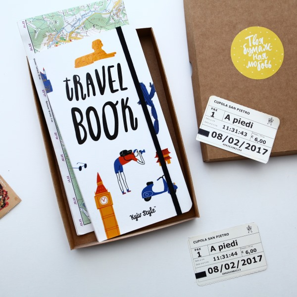 Блокнот Travel Book