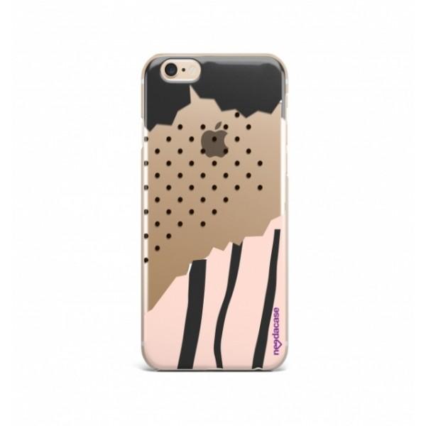 Дизайнерский чехол Pink polka dot