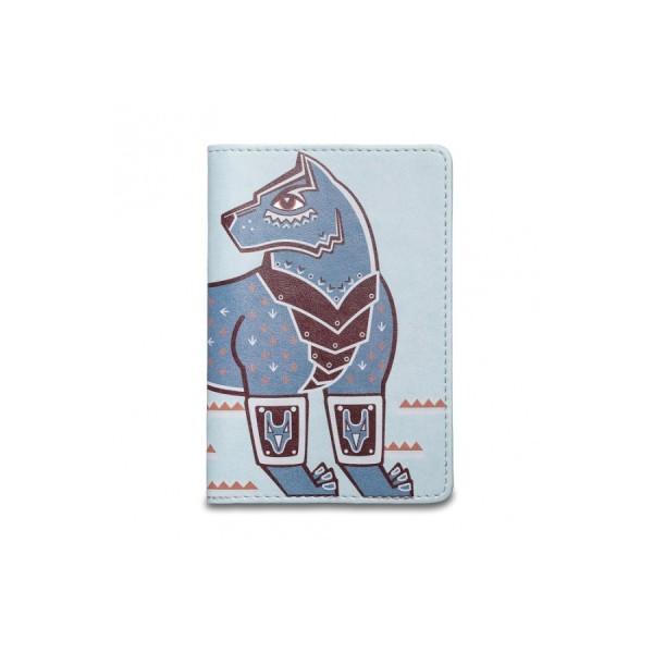 Обложка на паспорт Стальной волк