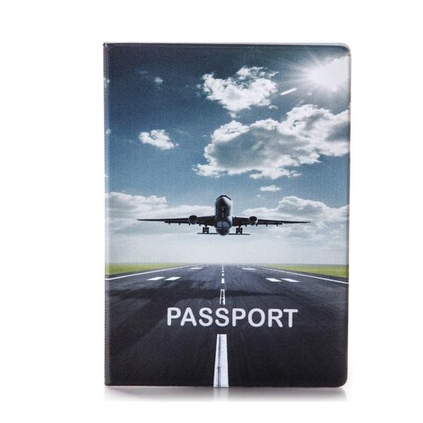Обложка на паспорт Самолет