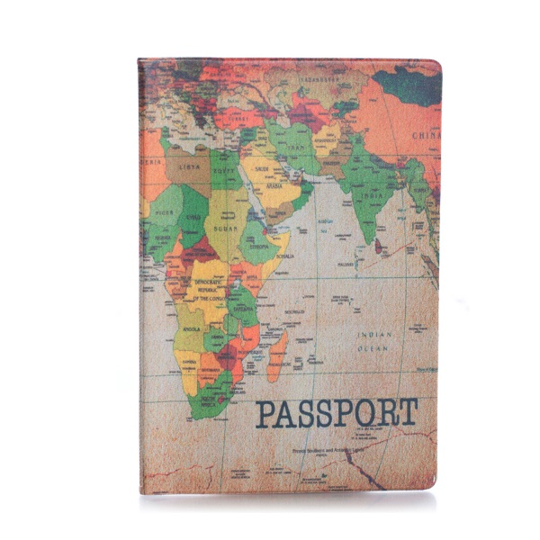 Обложка на паспорт Карта