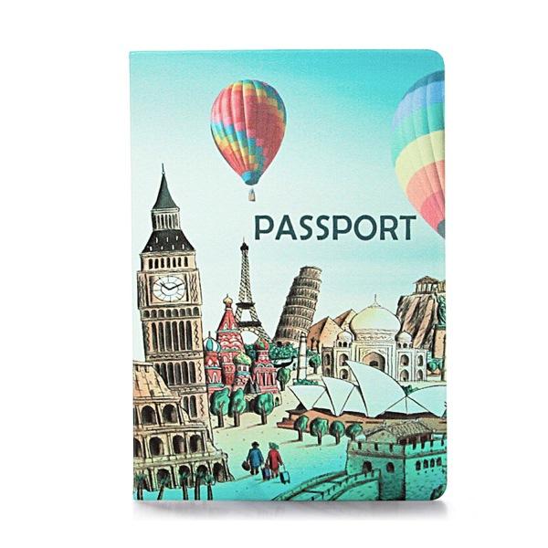 Обложка на паспорт Вокруг света