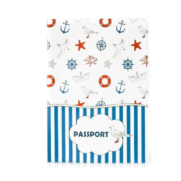 Обложка на паспорт Морская