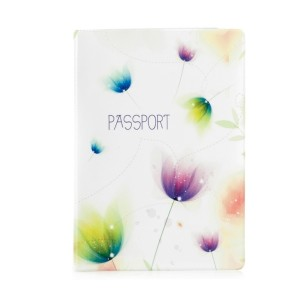 Обложка на паспорт Тюльпаны