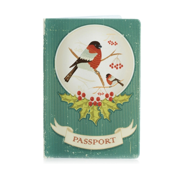 Обложка для паспорта Снегирь