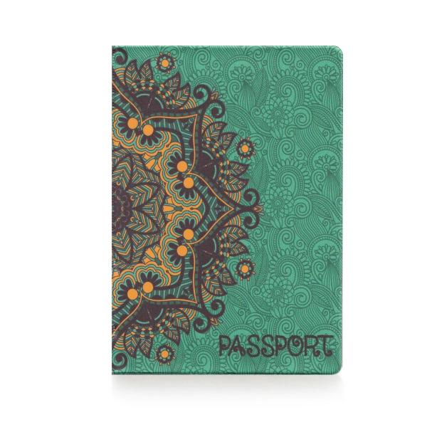 Обложка для паспорта Золотые узоры