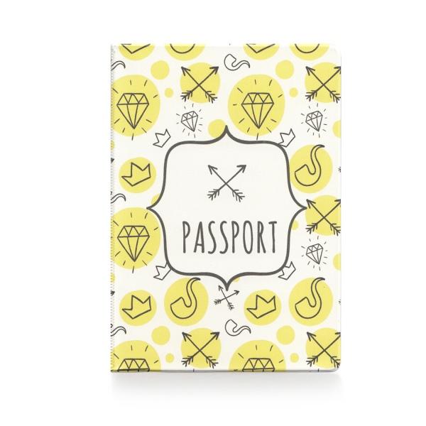 Обложка для паспорта Hipster