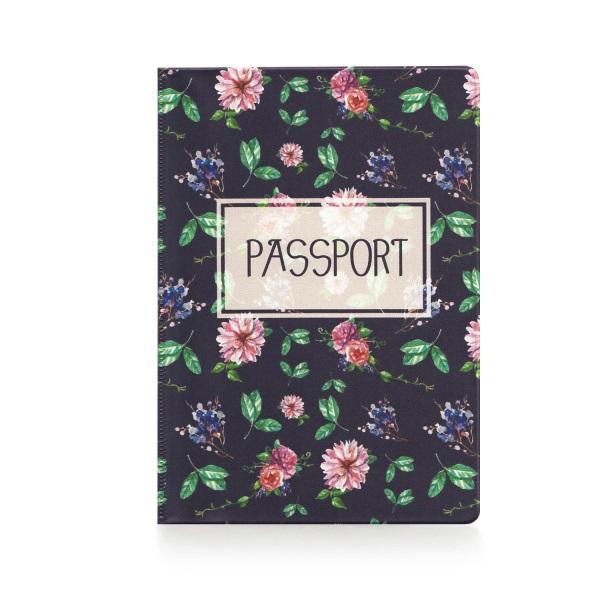 Обложка для паспорта Сад