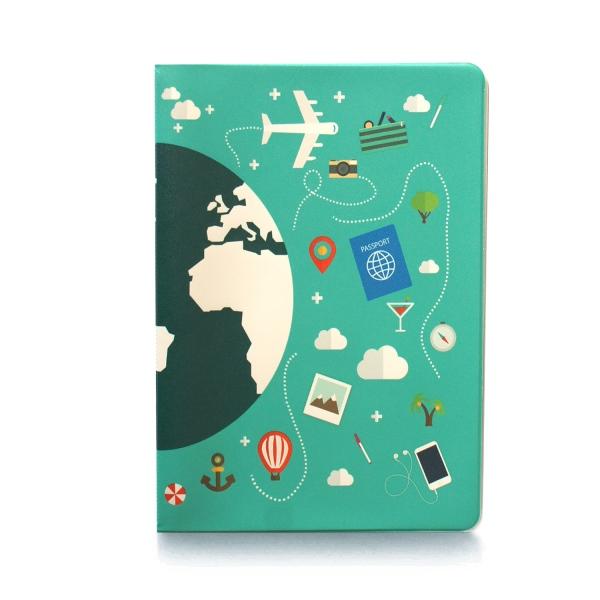 Обложка на паспорт Глобус