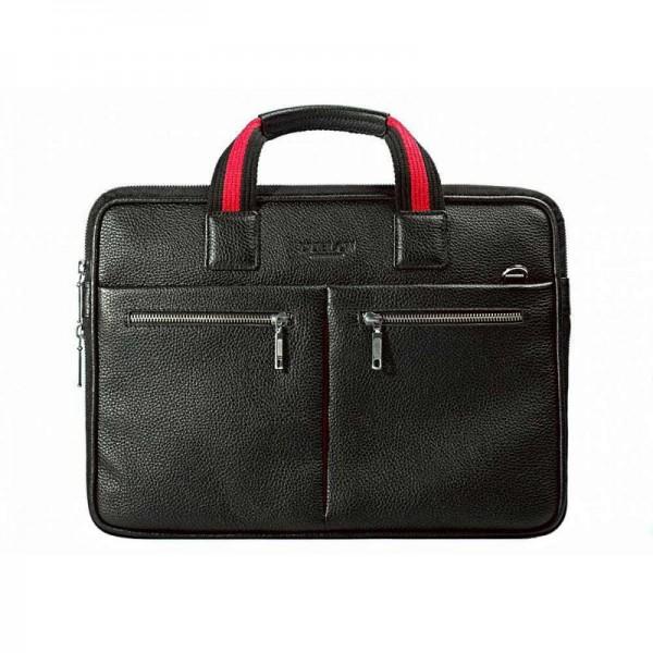 Кожаная сумка для ноутбука Escudo