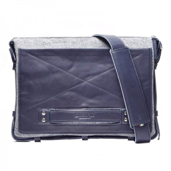 Мужская сумка для ноутбука из кожи