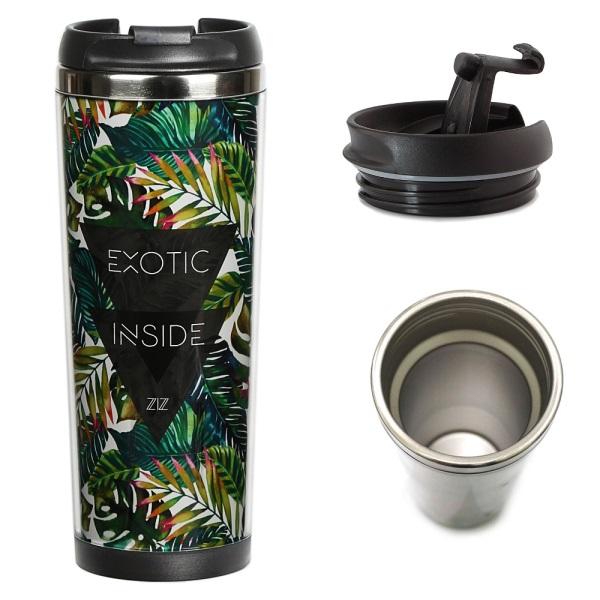 Термокружка Пальмовые листья