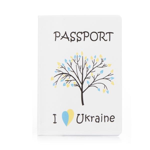 Обложка для паспорта Любить Украину