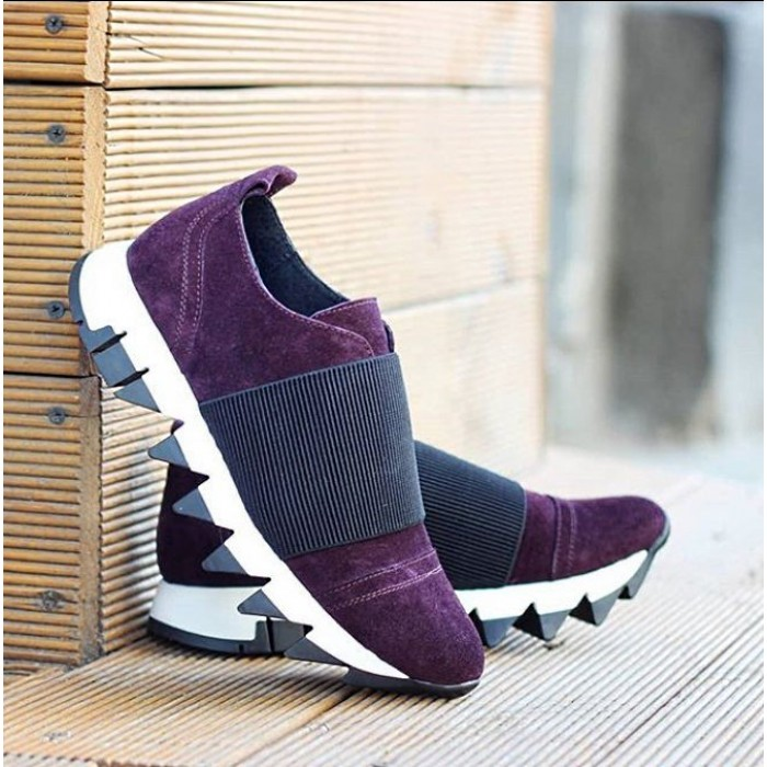 Кросівки замшеві з резинкою 02a75f1f33a37