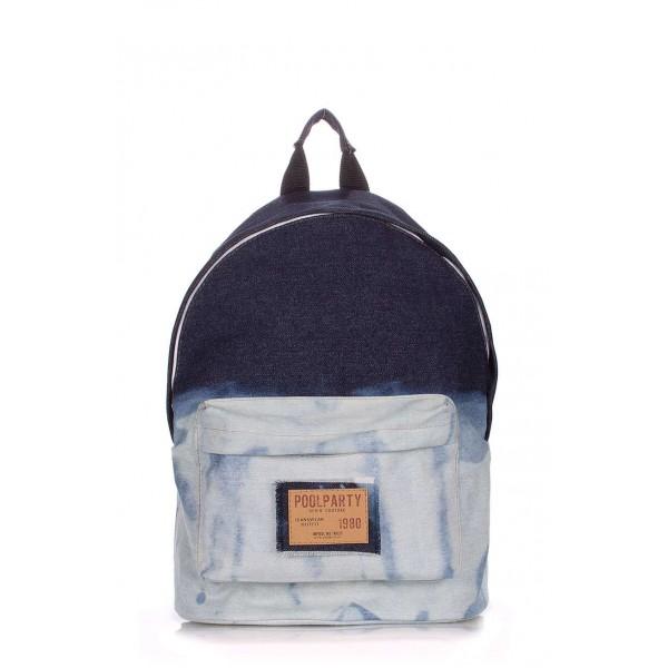 Джинсовый рюкзак 2