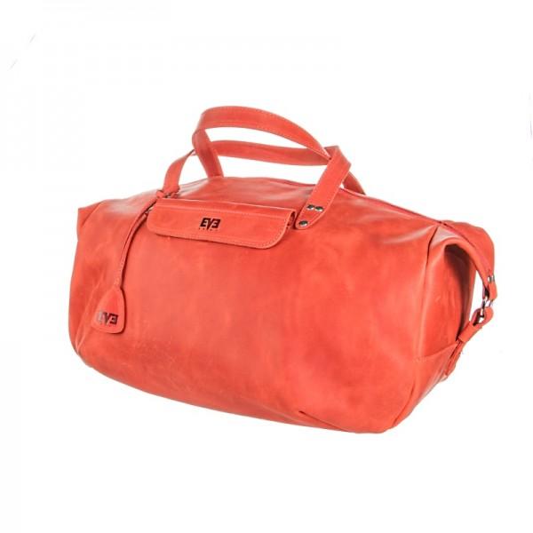 Дорожная кожаная сумка LVL2611dbl