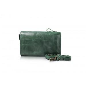 Кожаный клатч ML TWS1386grn