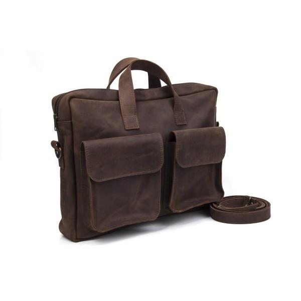 Кожаный мужской портфель BN1887br