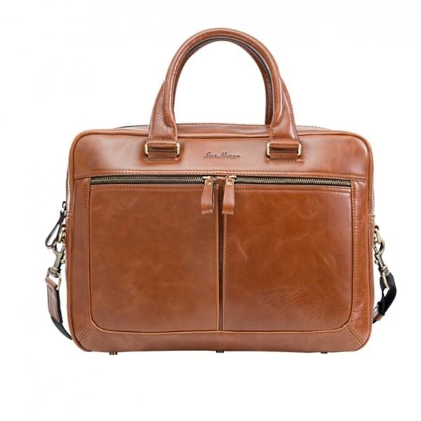 Мужская кожаная сумка IH2207or