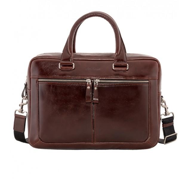 Мужская кожаная сумка IH2208br
