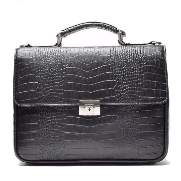 Кожаный мужской портфель JB