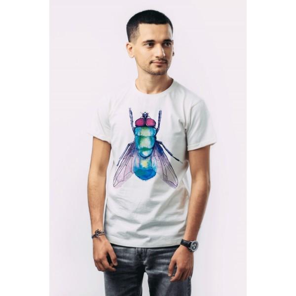 Мужская футболка Муха
