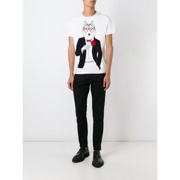 Мужская футболка с принтом Y1884wt