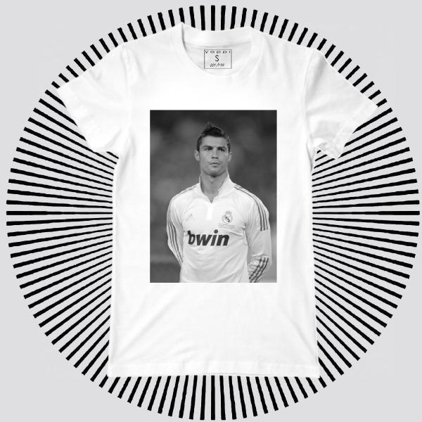 Мужская футболка с принтом Y1883wt