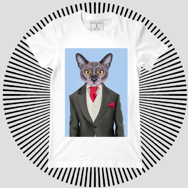Мужская футболка Y1913wt