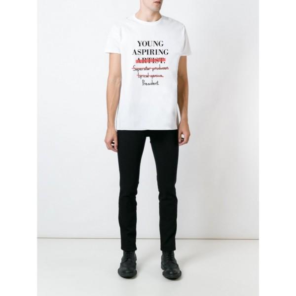 Мужская футболка с принтом Young