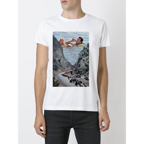 Мужская футболка Y1714wt