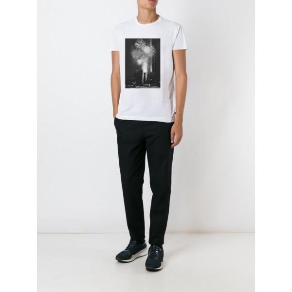Мужская футболка Феерверк