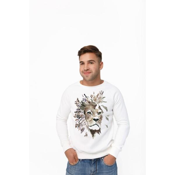 Мужской свитшот Лев