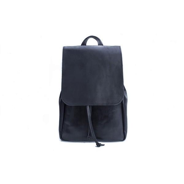 Кожаный рюкзак женский BN2257blk