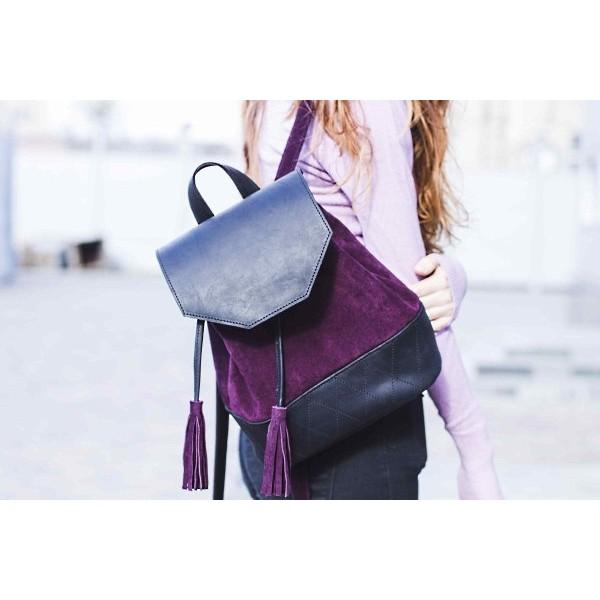 Кожаный рюкзак BN2252combi