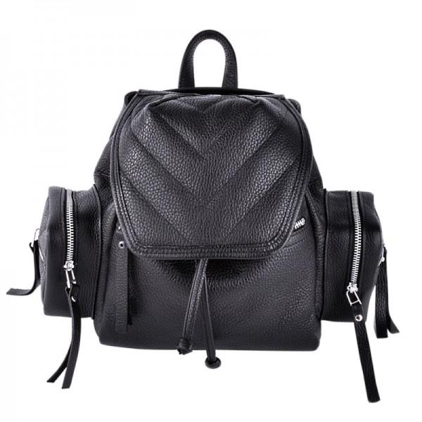 Кожаный рюкзак К 750 Black