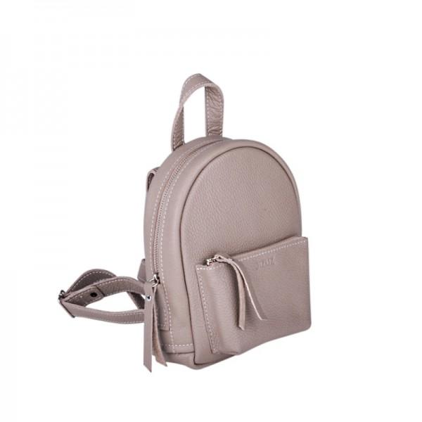 Женский кожаный рюкзак Baby Sport беж