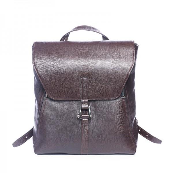 Мужской кожаный рюкзак Dwarf браун